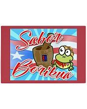 Sabor Borikua Rectangle Cutting Board front