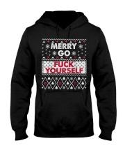 MERRY GO F YOURSELF Hooded Sweatshirt thumbnail