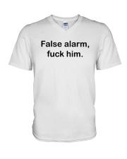 FLASW ALARM V-Neck T-Shirt thumbnail
