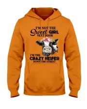 I'M NOT SWEET GIRL Hooded Sweatshirt thumbnail