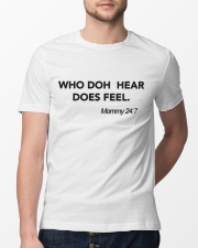 WHO DOH HEAR Classic T-Shirt lifestyle-mens-crewneck-front-13