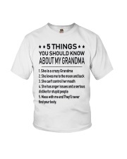 5 THINGS Youth T-Shirt tile