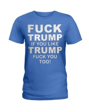 F TRMP  Ladies T-Shirt thumbnail