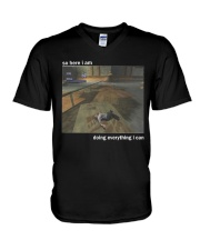 HAPPY NEW YEAR-ONLY 16 TODAY V-Neck T-Shirt thumbnail