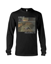 HAPPY NEW YEAR-ONLY 16 TODAY Long Sleeve Tee thumbnail