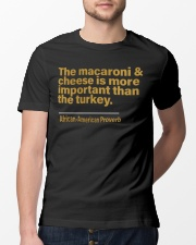 The macaroni Classic T-Shirt lifestyle-mens-crewneck-front-13
