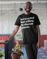 Introverted And Vegetative Classic T-Shirt apparel-classic-tshirt-lifestyle-front-34