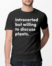 Introverted And Vegetative Classic T-Shirt lifestyle-mens-crewneck-front-13