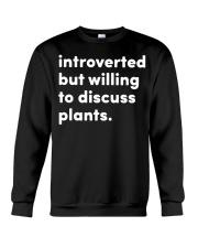 Introverted And Vegetative Crewneck Sweatshirt thumbnail