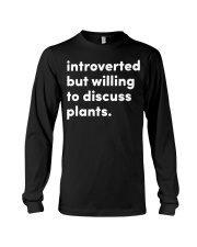 Introverted And Vegetative Long Sleeve Tee thumbnail