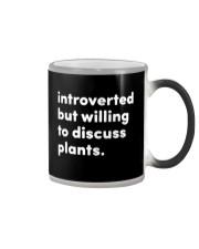 Introverted And Vegetative Color Changing Mug thumbnail