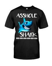 ASSHOLE SHARK Classic T-Shirt front