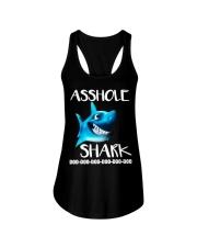 ASSHOLE SHARK Ladies Flowy Tank thumbnail