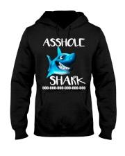 ASSHOLE SHARK Hooded Sweatshirt thumbnail