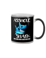 ASSHOLE SHARK Color Changing Mug thumbnail