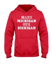 MAKE MICHIGAN Hooded Sweatshirt thumbnail
