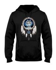 Wolf lover Tees Hooded Sweatshirt thumbnail