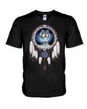 Wolf lover Tees V-Neck T-Shirt thumbnail