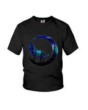 Wolf Moon T-Shirt Youth T-Shirt thumbnail