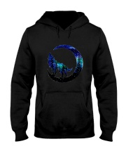 Wolf Moon T-Shirt Hooded Sweatshirt thumbnail