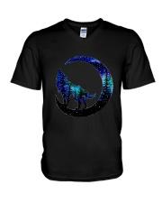Wolf Moon T-Shirt V-Neck T-Shirt thumbnail