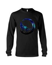 Wolf Moon T-Shirt Long Sleeve Tee thumbnail