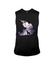 Wolf Sky Moon T shirt Sleeveless Tee thumbnail