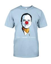 pencil neck t shirt Classic T-Shirt front