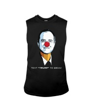 pencil neck t shirt Sleeveless Tee thumbnail