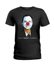 pencil neck t shirt Ladies T-Shirt thumbnail