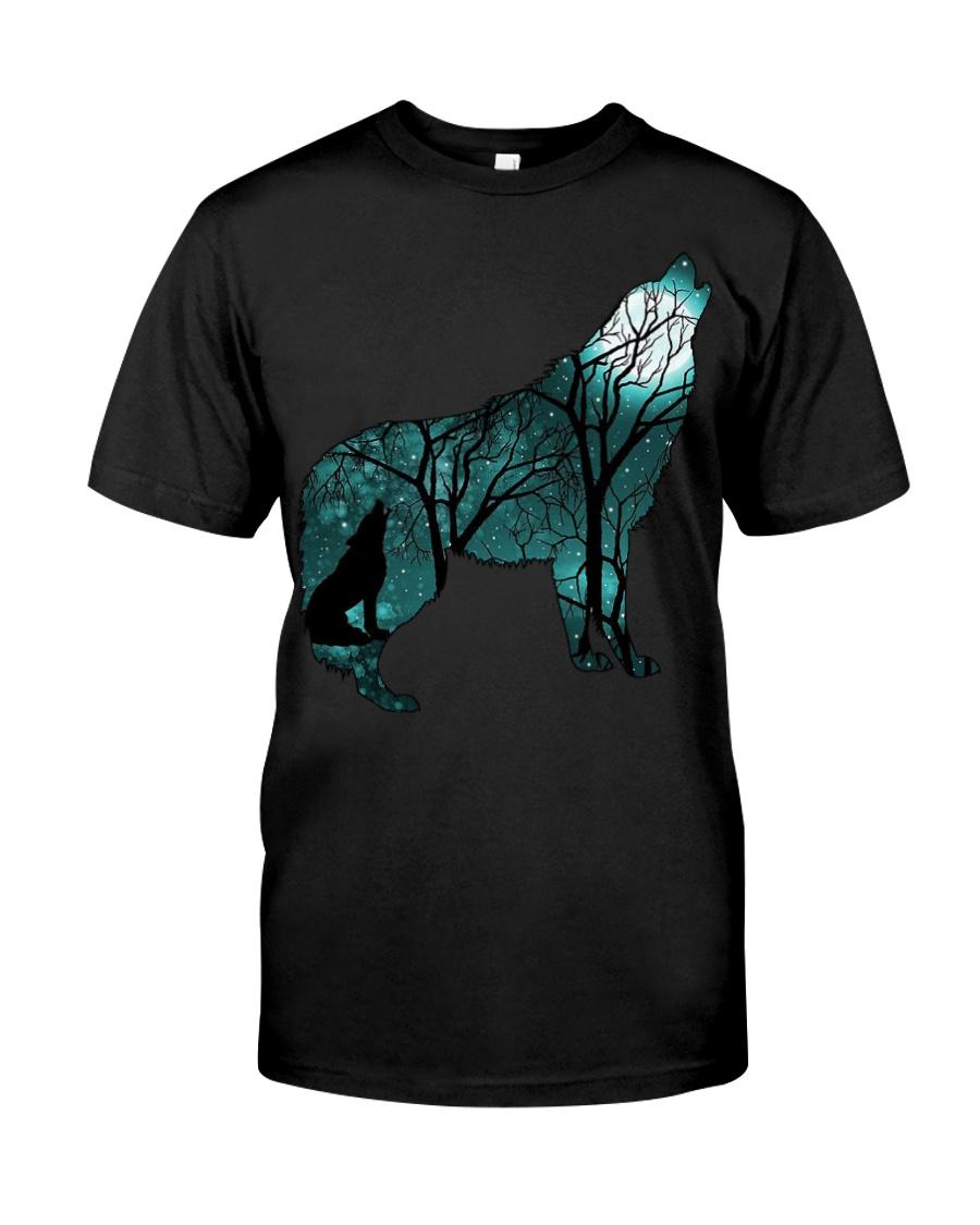 Ahoo Wolf Shirt Classic T-Shirt