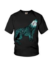 Ahoo Wolf Shirt Youth T-Shirt thumbnail