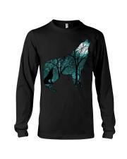 Ahoo Wolf Shirt Long Sleeve Tee thumbnail