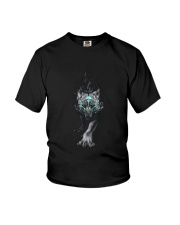 Wolf Face T-shirt Youth T-Shirt thumbnail