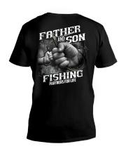 Fishing Partners For Life  V-Neck T-Shirt thumbnail