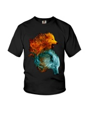 Wolf Lover T Shirt Youth T-Shirt thumbnail