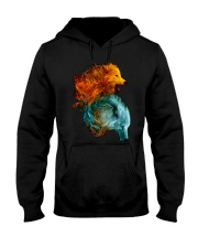 Wolf Lover T Shirt Hooded Sweatshirt thumbnail