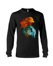 Wolf Lover T Shirt Long Sleeve Tee thumbnail