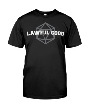 Lawful Good University Classic T-Shirt front