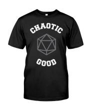 Chaotic Good University Classic T-Shirt front