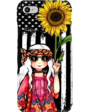 Hippie Sunflower Phone Case i-phone-7-case