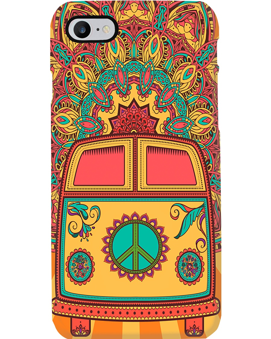 Hippie Vw Bus Phone Case
