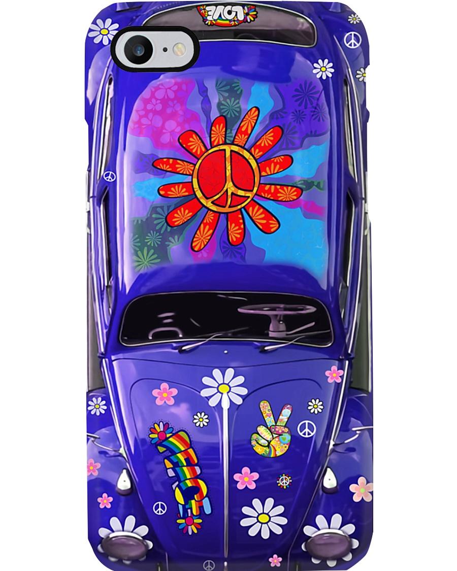 Hippie Vw Bug Phone Case