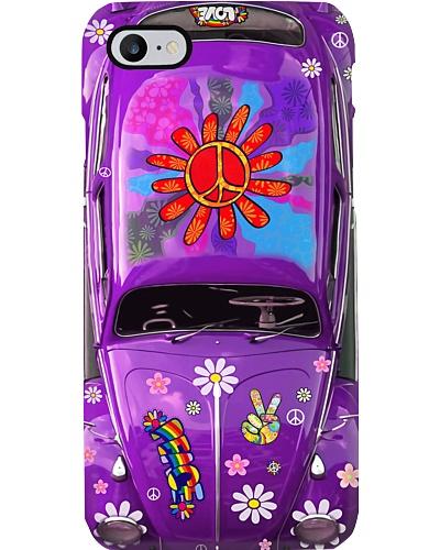 Hippie Vw Bug purple