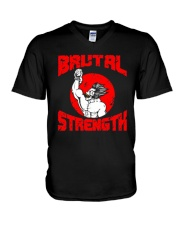 BRUTAL STRENGTH T-Shirt V-Neck T-Shirt thumbnail