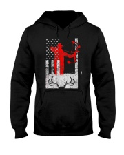 Deer Hunting Flag T-Shirts Hooded Sweatshirt thumbnail