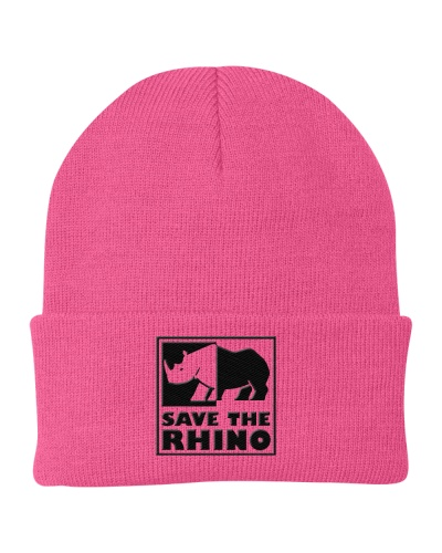 Save the rhino Embroidered Hat