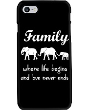 Elephant family t shirt phone case mug Phone Case thumbnail