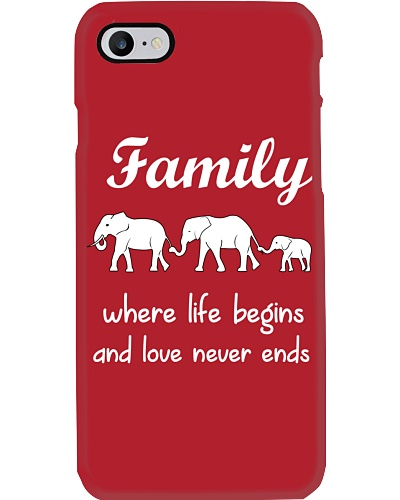 Elephant family t shirt phone case mug