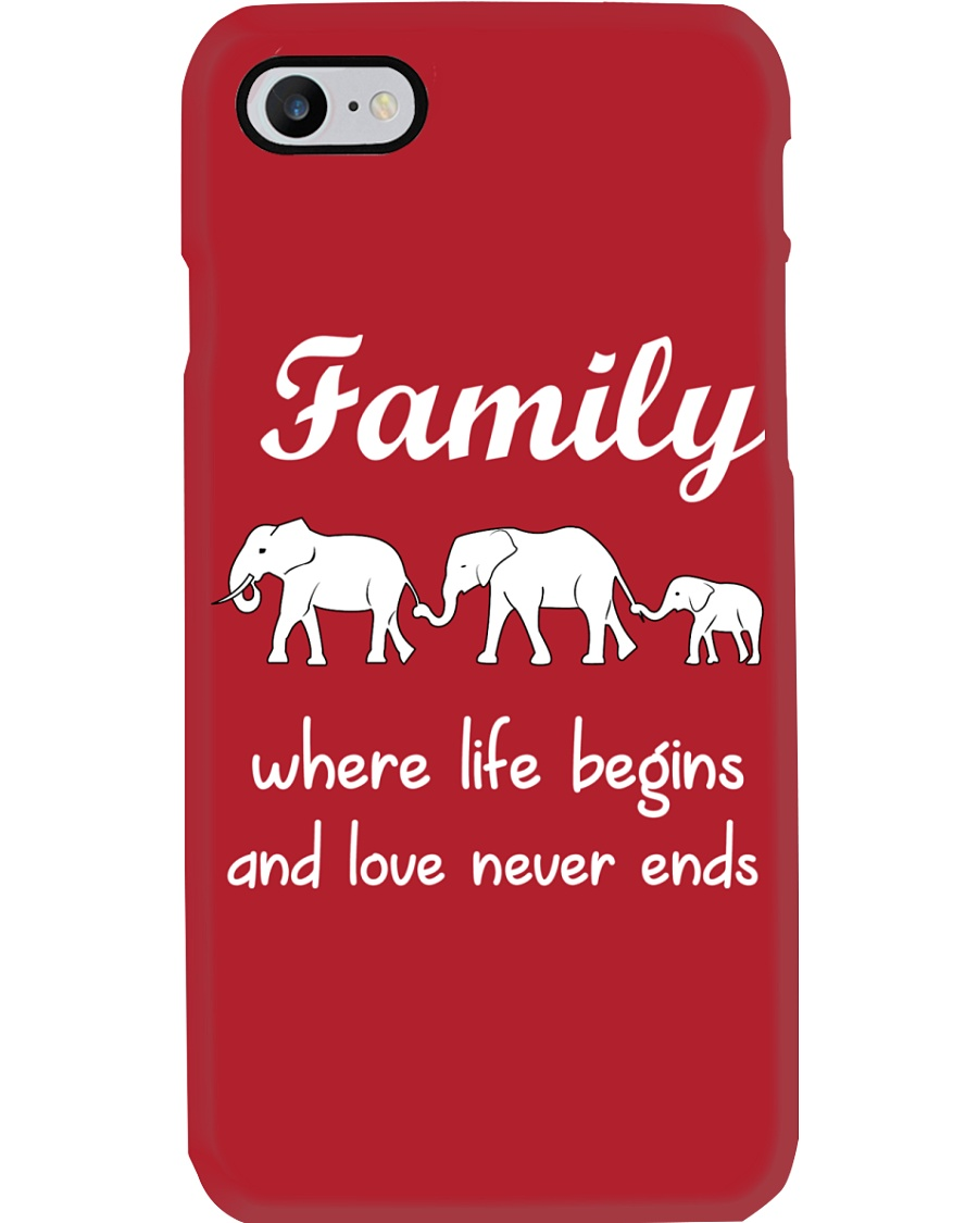 Elephant family t shirt phone case mug Phone Case